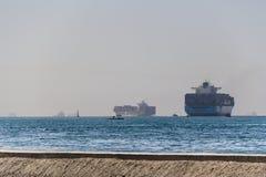 Σκάφη εμπορευματοκιβωτίων Στοκ Εικόνα