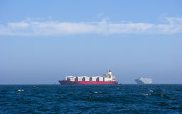 σκάφη εμπορευματοκιβω&tau Στοκ Φωτογραφίες