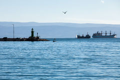 Σκάφη εν πλω Στοκ φωτογραφία με δικαίωμα ελεύθερης χρήσης