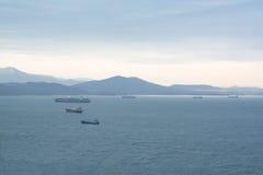 Σκάφη θάλασσας στην επιδρομή στον κόλπο Στοκ Φωτογραφίες