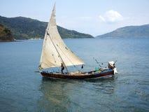Σκάφη στο λιμένα Ankify, Ankify, Μαδαγασκάρη Στοκ Εικόνα