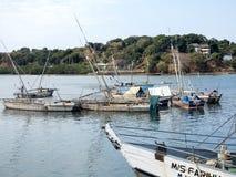Σκάφη στο λιμένα Ankify, Ankify, Μαδαγασκάρη Στοκ φωτογραφίες με δικαίωμα ελεύθερης χρήσης