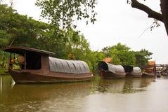σκάφη φορτίου Ταϊλανδός Στοκ εικόνα με δικαίωμα ελεύθερης χρήσης