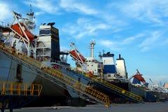 Σκάφη φορτίου Στοκ Φωτογραφία