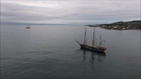 σκάφη ψηλά Δουβλίνο Riverfest 2017 Ιρλανδία φιλμ μικρού μήκους