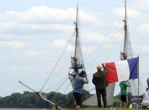 σκάφη ψηλά Στοκ Φωτογραφίες