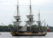 σκάφη ψηλά Στοκ Εικόνες