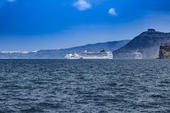 Σκάφη Crusie Στοκ Εικόνες