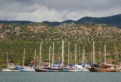 Σκάφη Kalekoy Simena στοκ φωτογραφίες με δικαίωμα ελεύθερης χρήσης