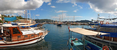Σκάφη Kas σε Lycia Τουρκία Στοκ Εικόνες