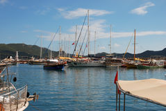 Σκάφη Kas σε Lycia στοκ εικόνες