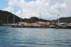 Σκάφη Uchagiz στοκ φωτογραφίες