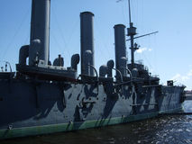 Σκάφος Άγιος Peterburg ταχύπλοων σκαφών Avrora αυγής στοκ φωτογραφίες