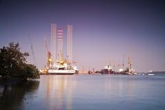 σκάφος αποβαθρών Στοκ Φωτογραφία