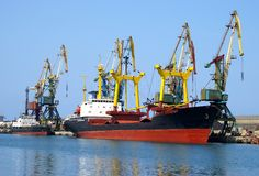 σκάφος αποβαθρών Στοκ Εικόνα