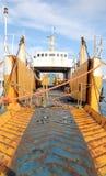 σκάφος αφοπλισμού Στοκ φωτογραφία με δικαίωμα ελεύθερης χρήσης