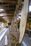 σκάφος Βίκινγκ αντιγράφων Στοκ εικόνες με δικαίωμα ελεύθερης χρήσης