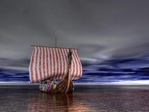 σκάφος Βίκινγκ Στοκ φωτογραφίες με δικαίωμα ελεύθερης χρήσης