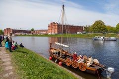 Σκάφος Βίκινγκ Στοκ εικόνα με δικαίωμα ελεύθερης χρήσης