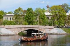 Σκάφος Βίκινγκ Στοκ φωτογραφία με δικαίωμα ελεύθερης χρήσης