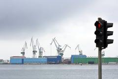 σκάφος βιομηχανίας κρίση&sig Στοκ Εικόνες