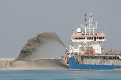σκάφος βυθοκόρων ειδικό Στοκ εικόνες με δικαίωμα ελεύθερης χρήσης