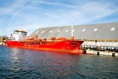 Σκάφος βυτιοφόρων Στοκ εικόνα με δικαίωμα ελεύθερης χρήσης