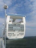 Σκάφος γραμμών κρουαζιέρας πριγκηπισσών που ελλιμενίζεται Εσθονία στο λιμένα του Ταλίν, Στοκ εικόνα με δικαίωμα ελεύθερης χρήσης