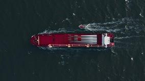 Σκάφος εμπορευματοκιβωτίων στην εξαγωγή και την εισαγωγή Διεθνές στέλνοντας φορτίο φιλμ μικρού μήκους