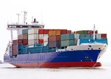 σκάφος εμπορευματοκιβωτίων στοκ φωτογραφία