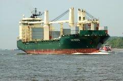 σκάφος εμπορευματοκιβωτίων Στοκ Φωτογραφίες