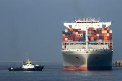 Σκάφος εμπορευματοκιβωτίων OOCL Στοκ Εικόνες