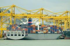 σκάφος εμπορευματοκιβ στοκ εικόνα με δικαίωμα ελεύθερης χρήσης