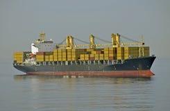 σκάφος εμπορευματοκιβ στοκ εικόνες