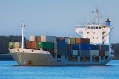 σκάφος εμπορευματοκιβ στοκ φωτογραφίες με δικαίωμα ελεύθερης χρήσης