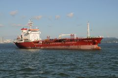σκάφος εμπορευματοκιβ στοκ εικόνες με δικαίωμα ελεύθερης χρήσης