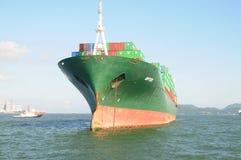 σκάφος εμπορευματοκιβ στοκ φωτογραφίες