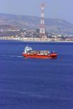 σκάφος εμπορευματοκι&beta στοκ φωτογραφία