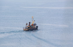 Σκάφος εν πλω Στοκ Φωτογραφία