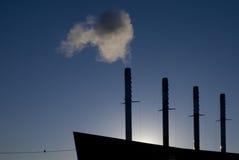 σκάφος εργοστασίων Στοκ φωτογραφία με δικαίωμα ελεύθερης χρήσης