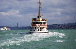 σκάφος θάλασσας θυελ&lambd Στοκ Εικόνες
