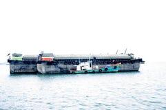 σκάφος λιμένων του Αμβούργο φορτίου δραστηριοτήτων σκάφη Στοκ Φωτογραφίες