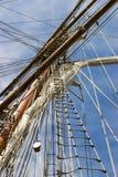 σκάφος ιστών Στοκ εικόνες με δικαίωμα ελεύθερης χρήσης