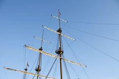 σκάφος ιστών Στοκ φωτογραφία με δικαίωμα ελεύθερης χρήσης