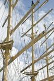 σκάφος ιστών Στοκ Εικόνες
