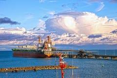 Τερματικό άνθρακα Στοκ φωτογραφία με δικαίωμα ελεύθερης χρήσης