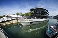 σκάφος κας κρουαζιέρα&sigmaf Στοκ Εικόνα