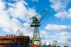 σκάφος κατασκευής κάτω Στοκ φωτογραφία με δικαίωμα ελεύθερης χρήσης