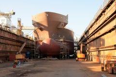 σκάφος κατασκευής Στοκ Εικόνα