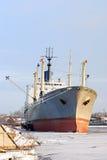σκάφος λιμένων φορτίου Στοκ εικόνες με δικαίωμα ελεύθερης χρήσης